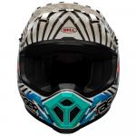 Capacete Bell Mx-9 Mips Tagger Check me Out 2020 Branco/Preto